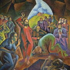Bohumil Kubišta: Vzkříšení Lazara (1911―1912)
