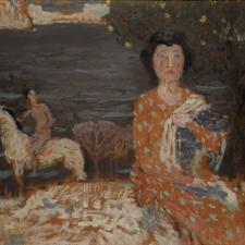 Jan Preisler: Studie k Ženě a jezdci u jezera (1905)