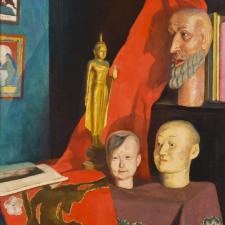 Emil Orlik, Kout mého atelieru, kolem 1912, soukromá sbírka