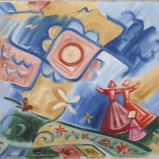 Josef Čapek, Zpívající děvčata, 1936, soukromá sbírka