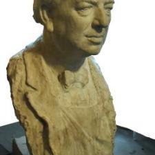 Hanzálek Jiří, Josef Skupa, 1967, plastika, sádra, v. 84 cm, P 253